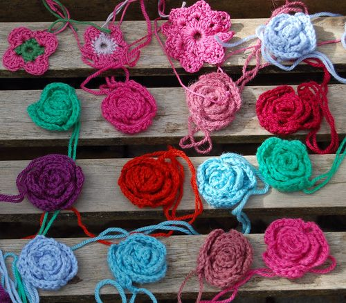 Roses for tea cosy