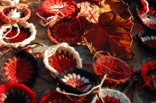 Autumnal crochet