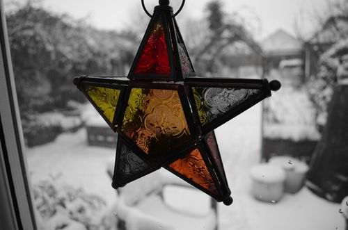 Star lantern in con